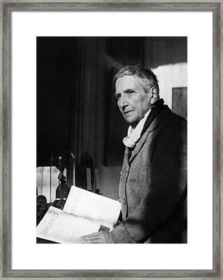 Gertrude Stein 1874-1946, American Framed Print by Everett