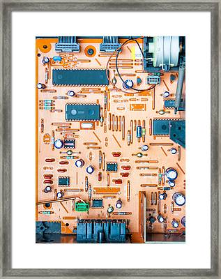 Get Connected Framed Print