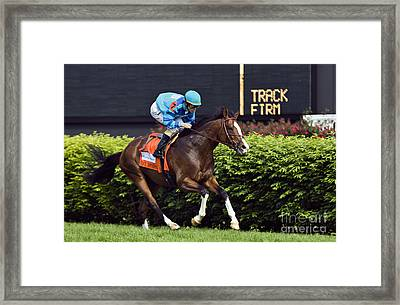 Get Stormy - D007601 Framed Print by Daniel Dempster