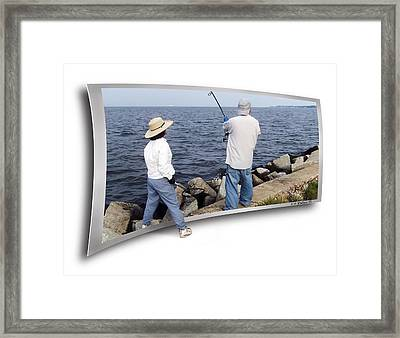 Get The Net Framed Print by Brian Wallace