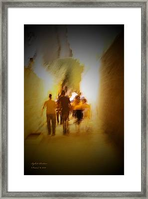 Framed Print featuring the photograph Get-up And Walk The Country by Itzhak Richter