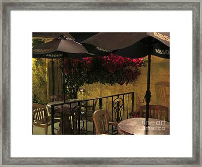 Framed Print featuring the photograph Getaway by Leslie Hunziker