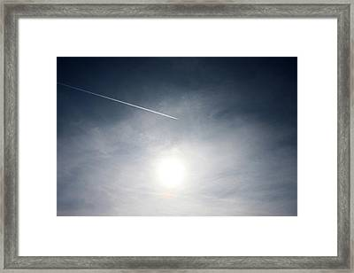 Getting Away Framed Print by Richard Newstead