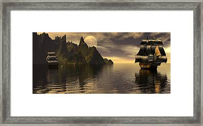 Getting The Range Framed Print by Claude McCoy