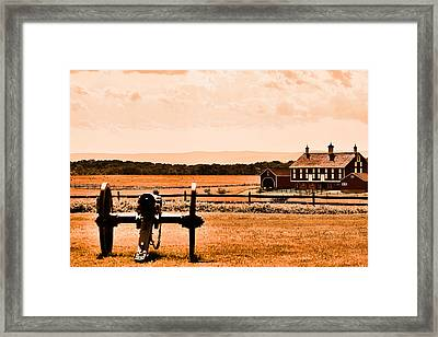 Gettysburg Color Framed Print by Justin Mac Intyre