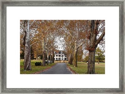 Gettysburg Historic Home Framed Print