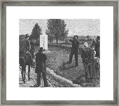 Gettysburg Reunion, 1887 Framed Print