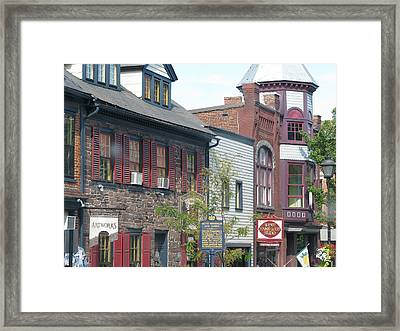 Gettysburg Framed Print by Suzanne Buckland