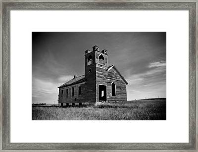 Ghost 5 Framed Print by Daniel Stober