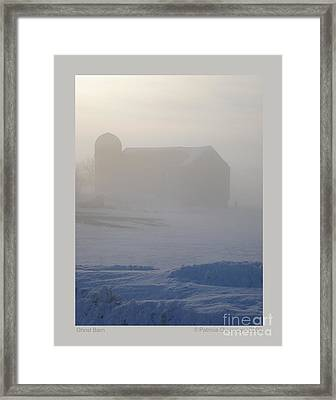 Ghost Barn Framed Print by Patricia Overmoyer