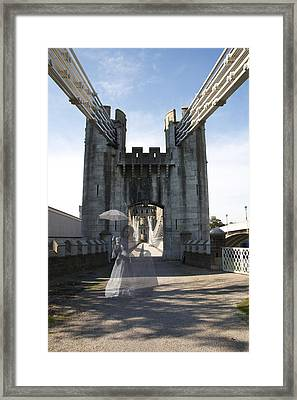 Ghost Bridge Framed Print by Christopher Rowlands