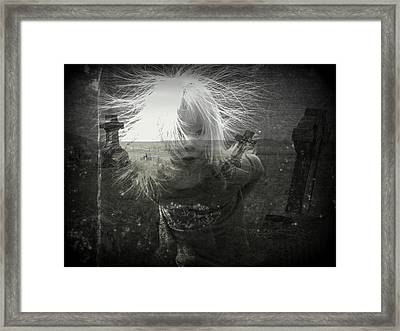 Ghost Child Framed Print by Shirley Sirois