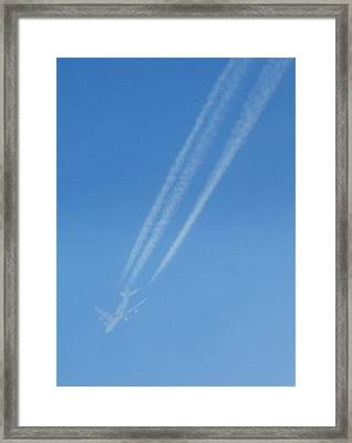 Ghost Flight Framed Print by Dennis Leatherman