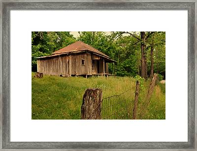 Ghost House Framed Print by Marty Koch