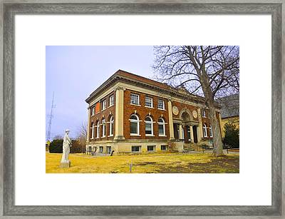 Ghost In The Garden Framed Print