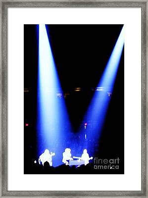 Ghost Musician Framed Print by Ronnie Glover