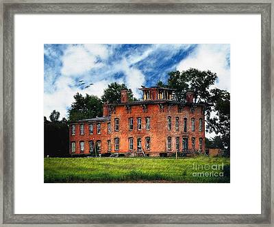 Ghost Of The Underground - Prospect Place Framed Print