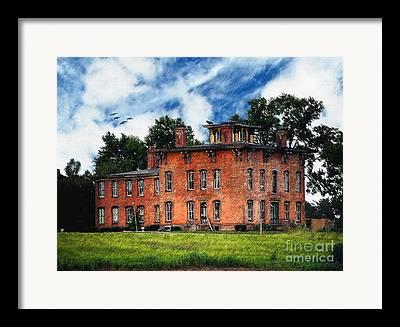 Ghost Adventures Mansion Framed Prints