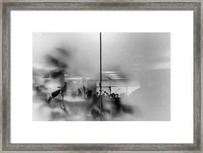 Ghost Office Framed Print by Michele Mule'