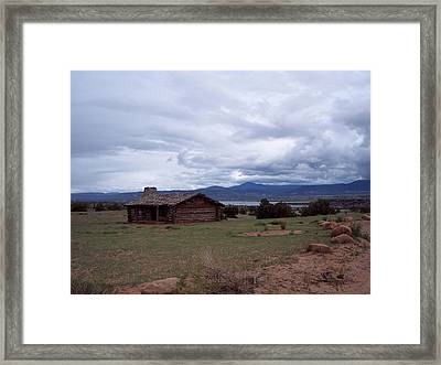 Ghost Ranch Vista Framed Print by Susan Alvaro