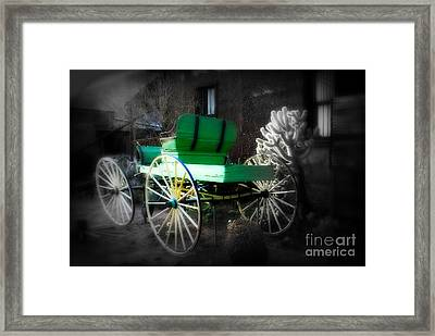 Ghost Rider  Framed Print by Susanne Van Hulst