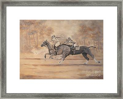 Ghost Riders Framed Print