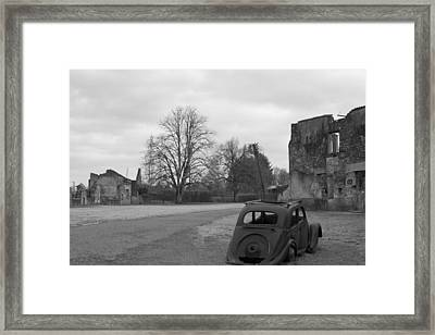 Ghost Town Framed Print by Georgia Fowler