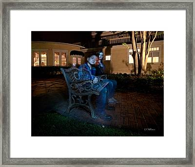 Ghostly Cousins Framed Print by Christopher Holmes
