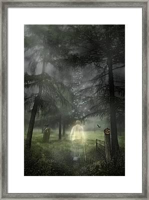 Ghostly Gentleman Framed Print