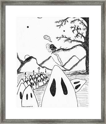 Ghosts 1 Framed Print by Michael Mooney