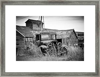 Ghosts 12 Framed Print by Daniel Stober