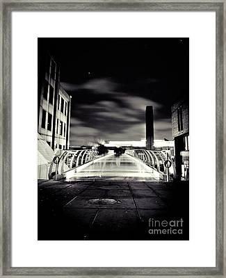 Ghosts In The City Framed Print
