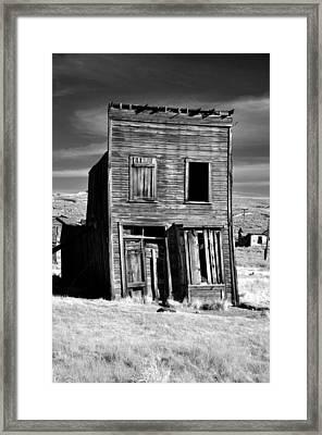 Ghosts Of Bodie  Framed Print by Matt MacMillan