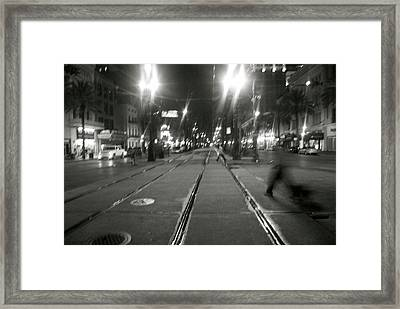 Ghosts Of New Orleans Framed Print by Thomas Brown
