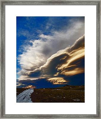Ghosts On The Wind Framed Print by Wesley Hahn