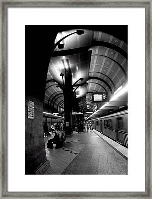 Ghosts Six Framed Print