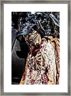 Ghoulie Framed Print by Christopher Holmes