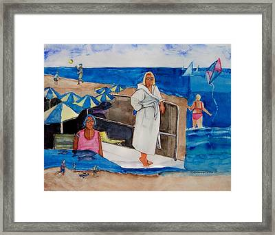 Giancarla Framed Print by Regina Ammerman
