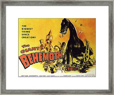 Giant Behemoth, The, 1959 Framed Print
