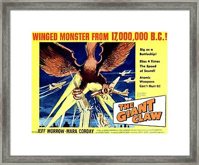 Giant Claw, The, 1957 Framed Print by Everett
