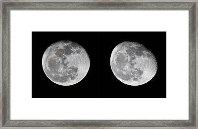 Gibbous Moon Framed Print by Betsy Knapp