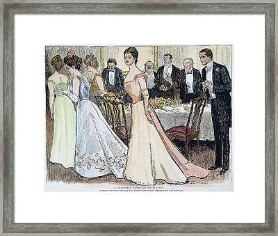 Gibson Art, 1899 Framed Print