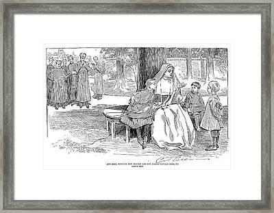 Gibson: Friends, 1901 Framed Print by Granger