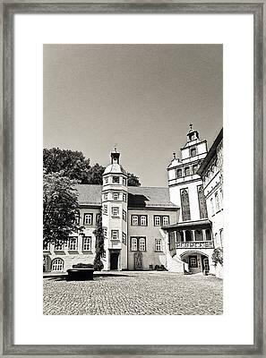 Gifhorn Castle Framed Print by Benjamin Matthijs