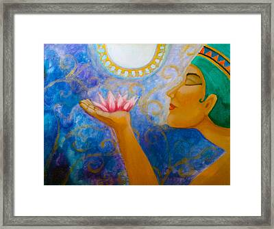 Gift Of The Nile Framed Print