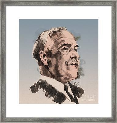 Gilbert Lewis, American Chemist Framed Print