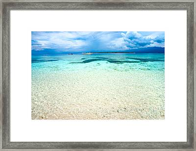 Framed Print featuring the photograph Gili Meno - Indonesia. by Luciano Mortula