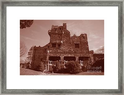 Gillette Castle.02 Framed Print by John Turek