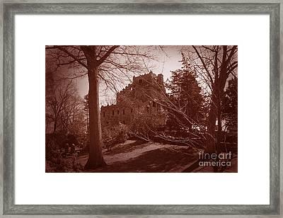 Gillette Castle.04 Framed Print by John Turek