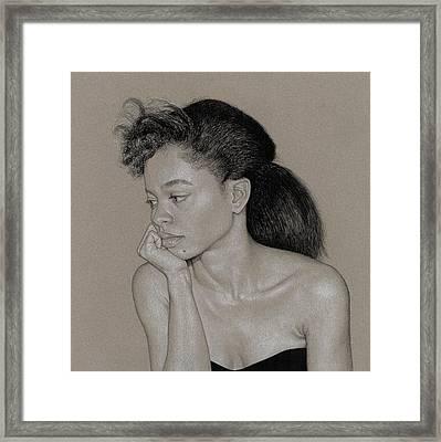 Gillian 1 Framed Print by David Kleinsasser